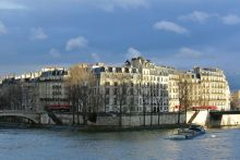Barge on the Seine