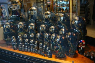 Amazing display of Babushka dolls
