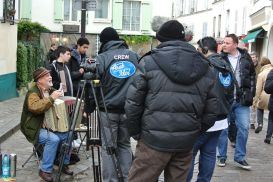 """Arab Idol"" on the streets of Montmartre"