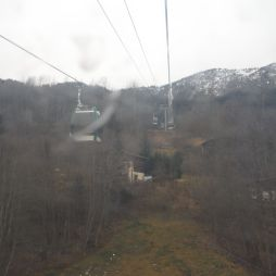 My first ever ski-lift!