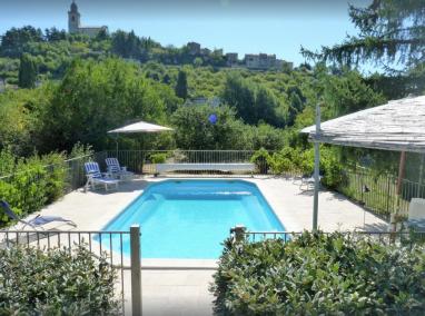 The pool at Villa Amande